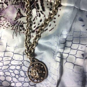 Kieselstein-Cord Jewelry - Kieselstein-Cord Solid Sterling SunFace Choker